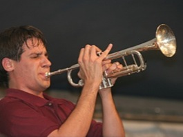 Alex on Trumpet
