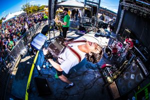 Alex Meixner Band at LaCrosse Oktoberfest Photo by Bob Good