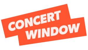 concert window logo
