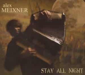 stay all night CD cover Alex Meixner