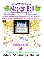 Masken Ball - German Club 01-31-15