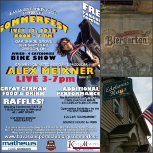 July Shows - Toledo, NJ, PA