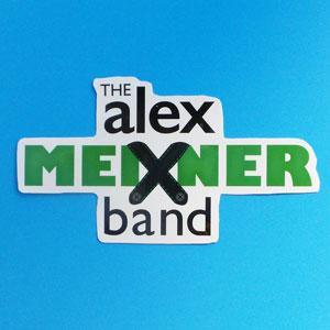Alex Meixner Band Logo Sticker