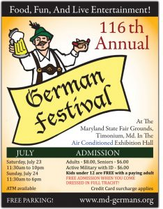 Maryland German Festival 2016
