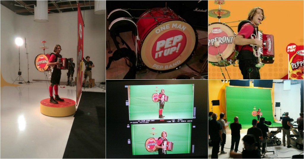 Hormel Pepperoni Commercial Shoot