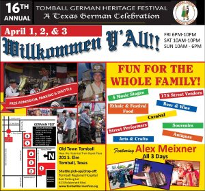 Tomball German Heritage Festival 2016