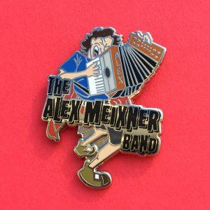 Rocking Alex Hat Pin