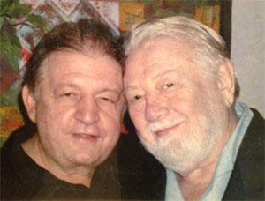Steve Popovich Sr. and Cowboy Jack Clement