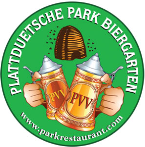 Plattduetsche Park Biergarten