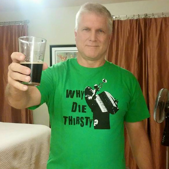 Tony Hilinski Raises A Glass