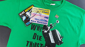 Merchandise in the Alex Meixner Store