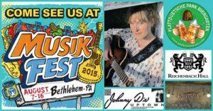 Musikfest through Johnny D's