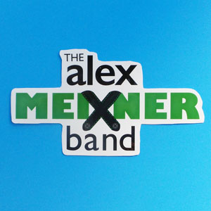 Alex Meixner Band Logo Sticker