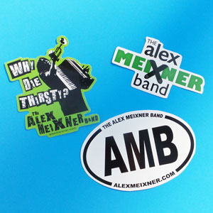 Alex Meixner Band Stickers