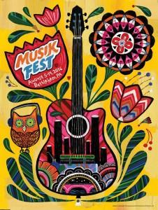 Musikfest Poster 2016