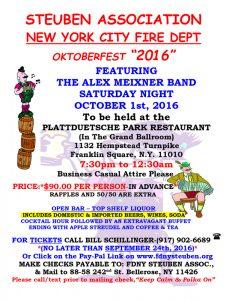 2016 Steuben FDNY Oktoberfest