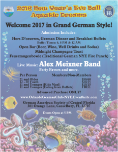 German American Society of Central Florida New Year 12-31-16