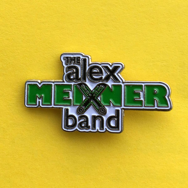 Alex Meixner Band Logo Hat Pin
