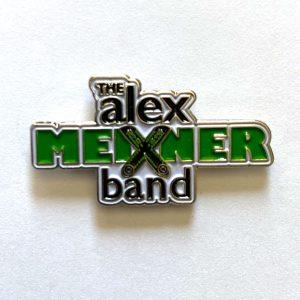 Amb Logo Pin White