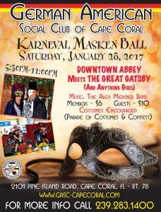 Cape Coral Masken Ball 2017