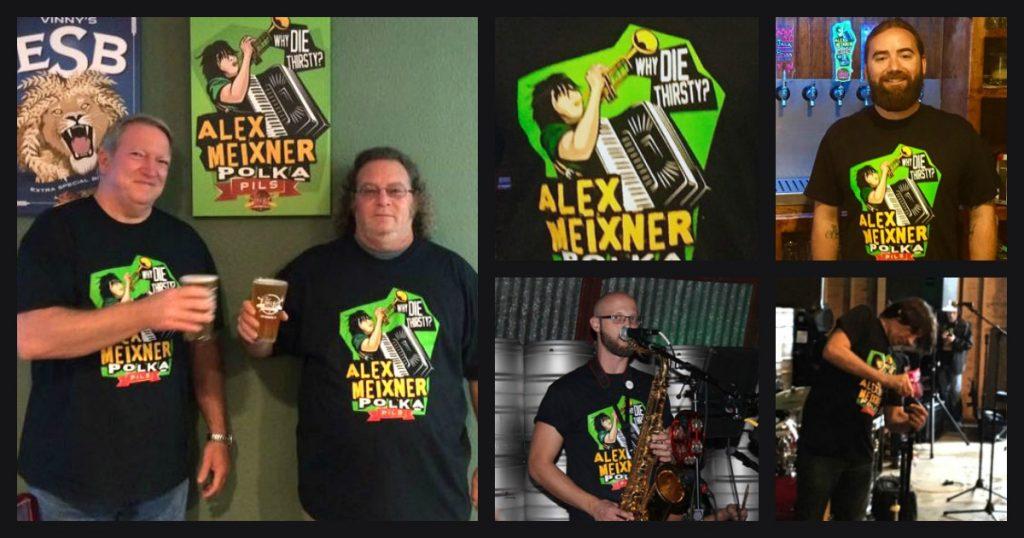 Alex Meixner Polka Pils Shirt