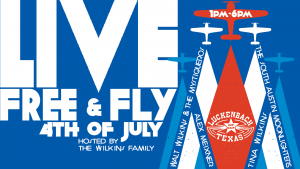 2017 Wilkins Family Live Free and Fly Festival in Luckenbach, TX