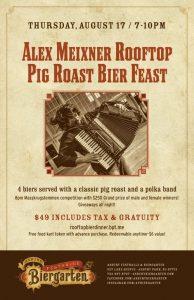 Asbury Park Pig Roast Bier Feast 2017