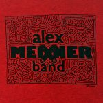 design on the Alex Meixner Band Maze Shirt