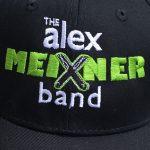 close up of Alex Meixner Band Baseball Cap