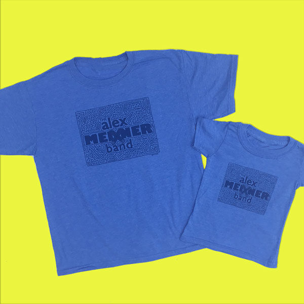 Kids maze shirts alex meixner band