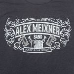front of Make Some Noise Shirt Alex Meixner Band
