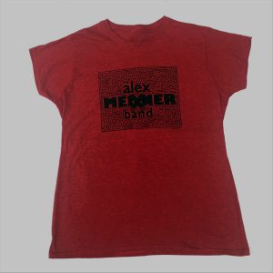 Women's Alex Meixner Band maze logo shirt
