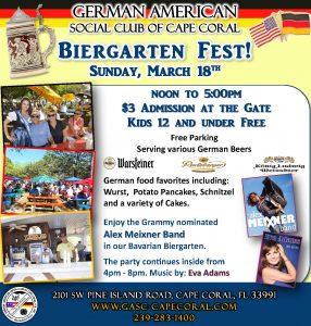 Gartenfest March 2018