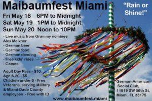 Maibaumfest Miami 2018