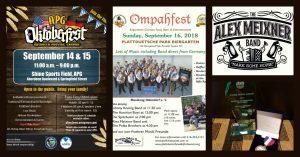 September 14-16, 2018 Alex Meixner Band