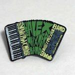 Hat Pin Alex Meixner Band Accordion