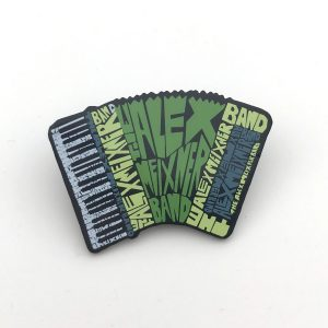 Hat Pin Alex Meixner Band Accordion Shape