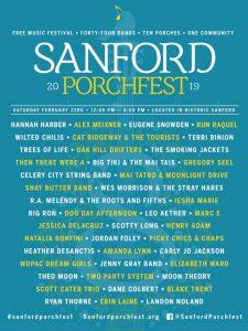 Sandford Porchfest 2019
