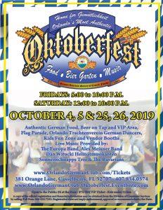 2019 Orlando Oktoberfest
