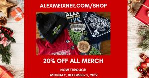 Alex Meixner Black Friday 2019 Facebook
