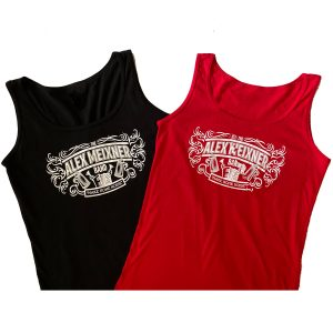 Msn Tank Tops Red Black