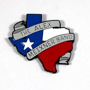 Texas Hat Pin Alex Meixner Band