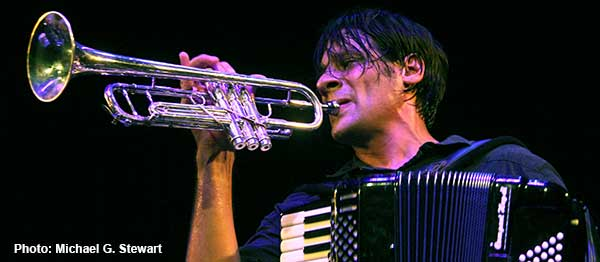 Alex Meixner trumpet & accordion