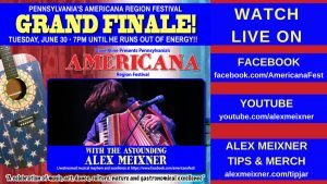 June 30 Live Stream Alex Meixner for Americana Fest