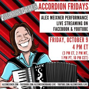 Instagram Live Stream Alex Meixner 10 09 20