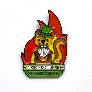 Squirrel Pin Alex Meixner Band