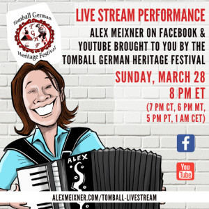 Ig March 28 2021 Alex Meixner Tomball German Live Stream Event