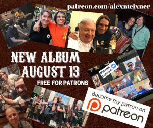 PATREON NEW ALBUM