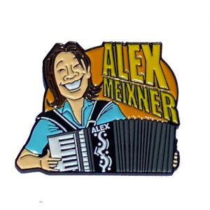 Alex Smiling Pin