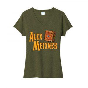Women V Neck Mwmf Shirt
